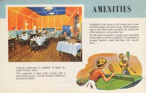 1960's Brochure Restaurant