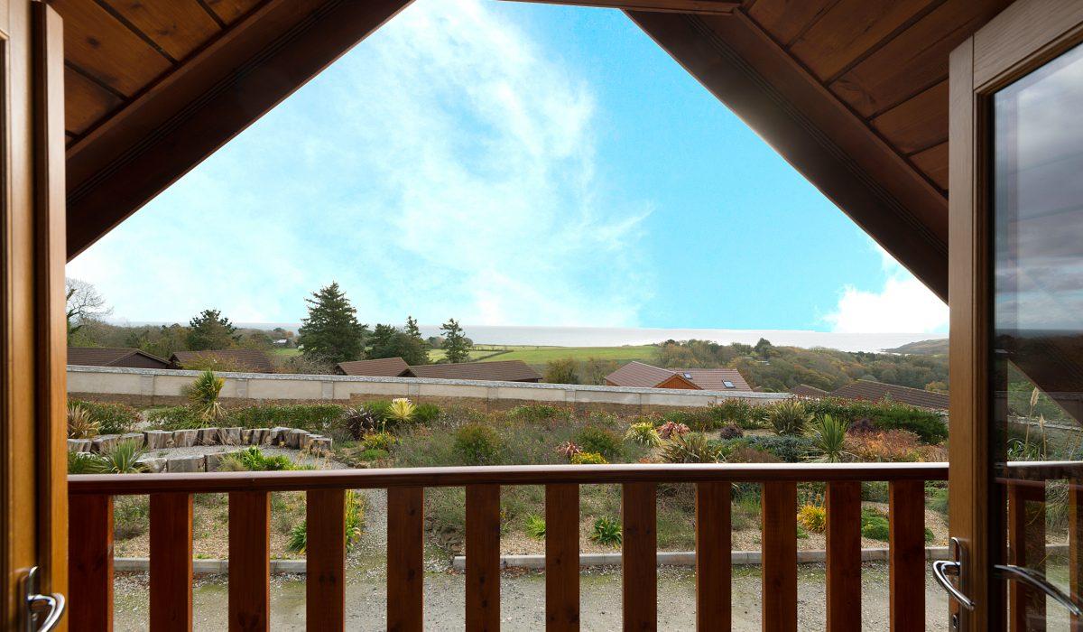 E52 SeaClusion - Master Bedroom Balcony View